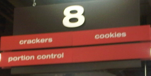 Longos portion control aisle